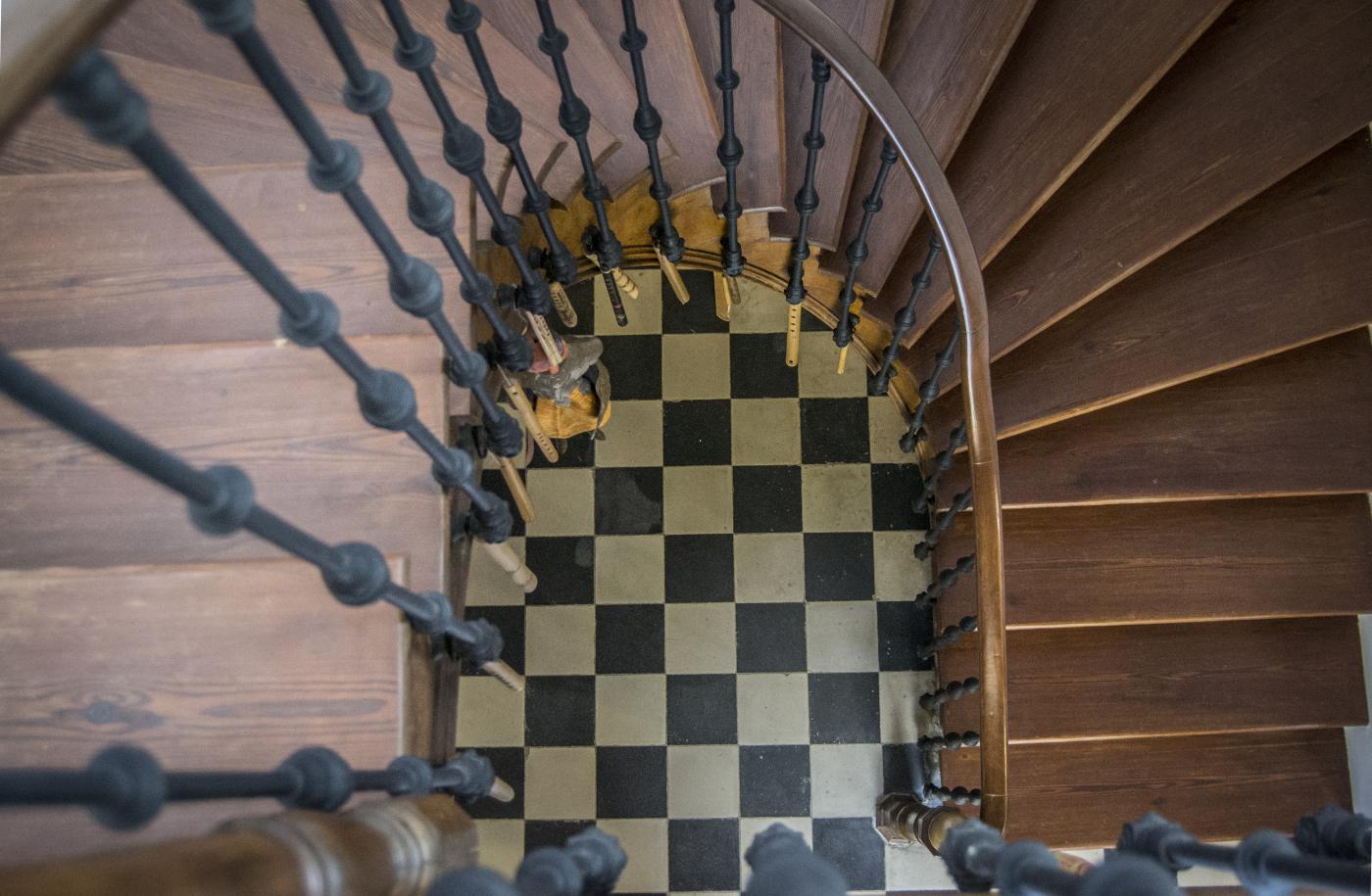 Escalera Casa del Poeta