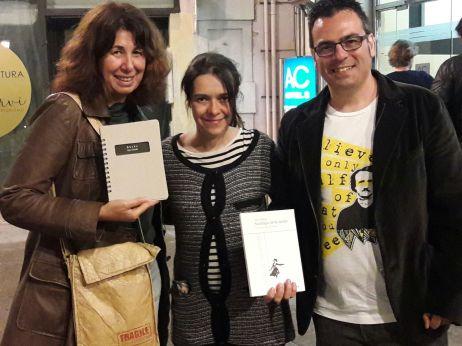 Con Ana Gorría